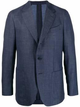 Caruso однобортный пиджак 504597GZS200Z
