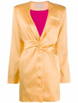Materiel платье с драпировкой SS20LAM17301BZ