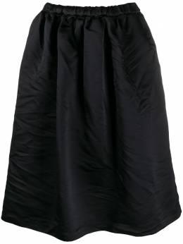 Comme Des Garcons Comme Des Garcons расклешенная юбка миди RES018051