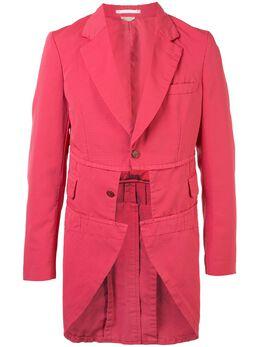 Comme Des Garcons Homme Plus приталенное пальто средней длины PEJ058S20