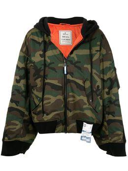 Maison Mihara Yasuhiro куртка с камуфляжным принтом A04BL061
