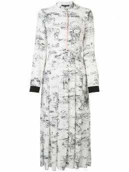 Markus Lupfer юбка Kamile Serengeti со складками DR1096