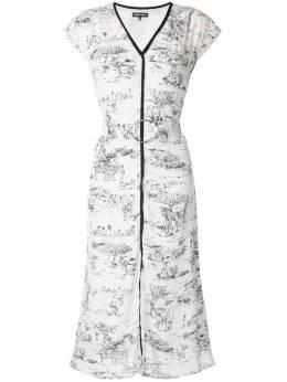 Markus Lupfer платье миди Safari с принтом DR1092