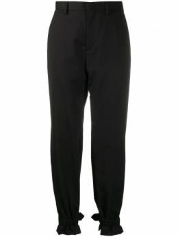 Comme Des Garcons Noir Kei Ninomiya зауженные брюки с пряжками 3EP002