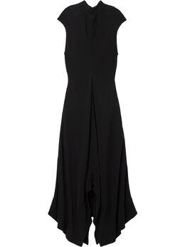 Proenza Schouler креповое платье с высоким воротником R2013015BY116