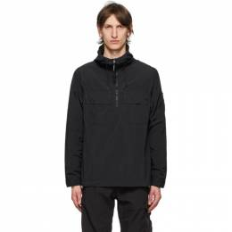 C.P. Company Black Lens Hooded Pullover Jacket 08CMSH310A-005665G