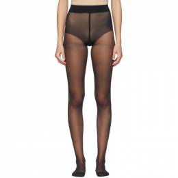 Wolford Black Pure 10 Tights 14497