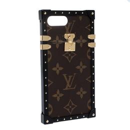 Louis Vuitton Monogram Canvas Eye Trunk iPhone 7 Plus Cover 284772