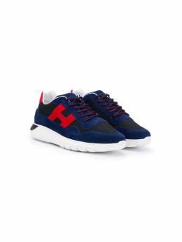 Hogan Kids кроссовки на шнуровке HXR3710AP31NNL847N