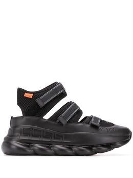 Versace сандалии Chain Reaction DSU8006D24TG