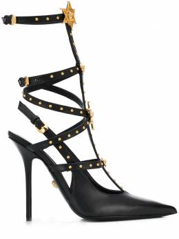 Versace босоножки на каблуке DST156PDVT4X