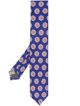 Canali галстук с узором 18HJ02695
