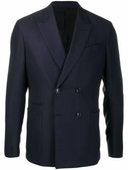 Ermenegildo Zegna двубортный пиджак 75207815Z4K0