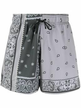Amiri плавки-шорты с принтом пейсли Y0M16389PS