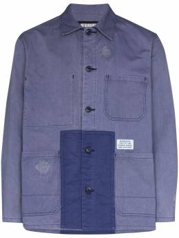 Neighborhood куртка-рубашка со вставками 201YTNHJKM03