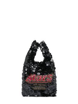 Anya Hindmarch маленькая сумка-тоут Mars Bar 143943