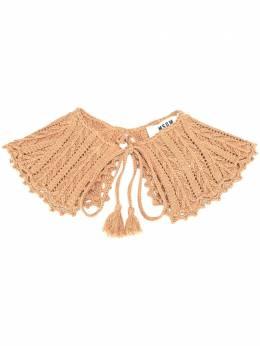 MSGM трикотажный шарф с оборками 2842MDK101207484
