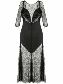 Alice Mccall кружевное платье Black Beauty AMD3199BLACK