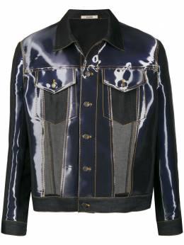 Zilver джинсовая куртка с абстрактным принтом SS20MJK01A