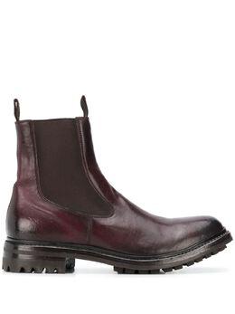 Officine Creative ботинки на рифленой подошве OCDALIX006FIOLUD611