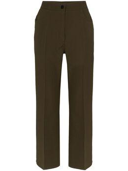 Jil Sander укороченные брюки Marvin JSWQ305301WQ201500