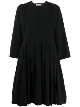 Henrik Vibskov платье оверсайз со складками PSS20F302
