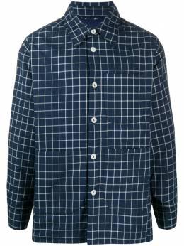 Vivienne Westwood Anglomania клетчатая рубашка с длинными рукавами 2401001611375EU