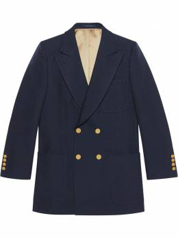 Gucci фактурный пиджак 608629ZADV4