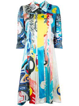 Charles Jeffrey Loverboy платье с абстрактным принтом CJLAW19ATD