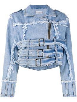 Faith Connexion джинсовая куртка с эффектом потертости X5304DNTM31