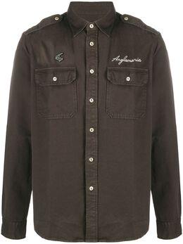 Vivienne Westwood Anglomania рубашка с вышитым логотипом 3501000311376EU