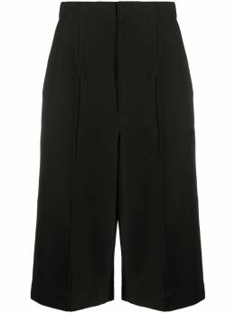 Y's длинные шорты с завышенной талией и открытыми швами YNP42034
