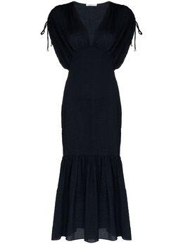 Marysia платье миди Monterey с V-образным вырезом SC252