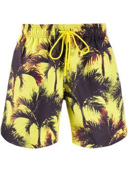 Just Don плавки-шорты SWP с тропическим принтом
