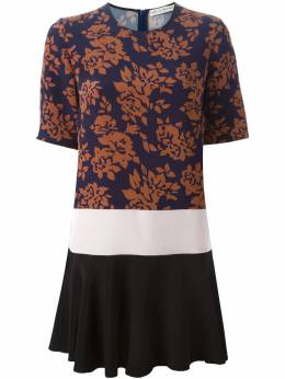 Mary Katrantzou платье-шифт 'Antona' AW15RDR0090ROSARIONAVY