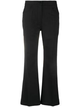 Jil Sander укороченные расклешенные брюки JSWQ305301WQ210700
