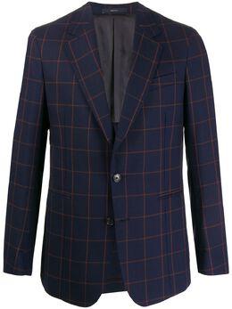 Paul Smith пиджак с глубоким V-образным вырезом M1R1765B00291