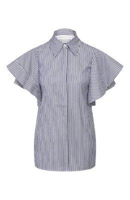 Хлопковая рубашка Victoria, Victoria Beckham 2120WSH000880A