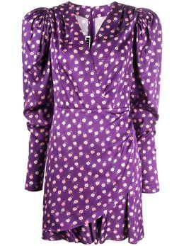 Rotate платье Aiken с принтом 900869