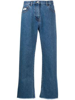 GCDS укороченные джинсы бойфренды CC94W031401