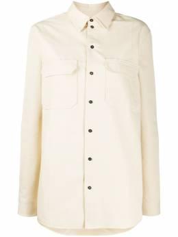 Jil Sander рубашка свободного кроя JSPQ601405WQ241900