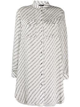 Diesel платье-рубашка с графичным принтом 00SC9M0IAXB