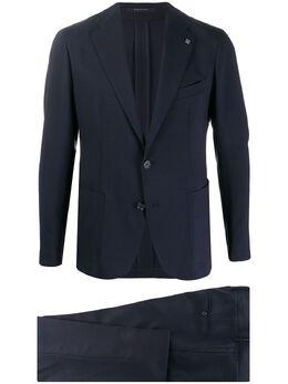 Tagliatore костюм узкого кроя с однобортным пиджаком ADAKAR22K1115UEZ185