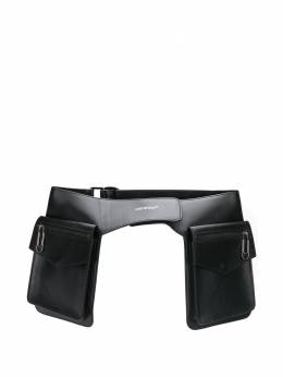 Off-White сумка-ведро с карманами OWNA133S20LEA0011000