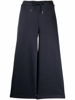 Fay спортивные брюки широкого кроя NTW8140534SRIBU807