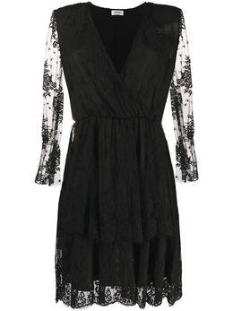 Liu Jo платье из цветочного кружева WA0317J5924