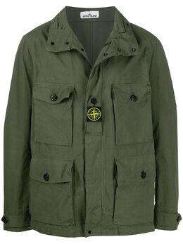 Stone Island куртка с накладными карманами MO721541921