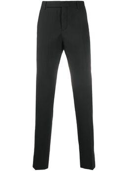 Saint Laurent строгие брюки 607843Y640W