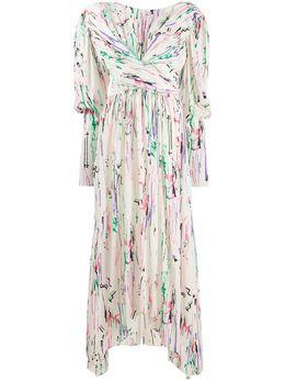 Isabel Marant платье макси Filao с принтом RO0159420P020I