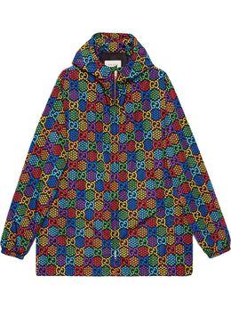 Gucci куртка с принтом GG Psychedelic 601712ZADGN